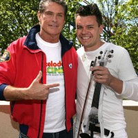 Craig Owen with David Hasselhoff